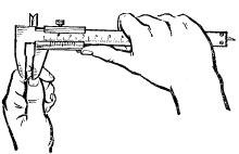 Штангенциркуль як користуватися